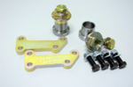 5 lug conversion/adapter kit from BMW E30 to E36, E46 bearings and brakes