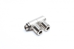 """TA-Technix double angle plug fitting 2 x 6mm with 1/8"""" AG"""